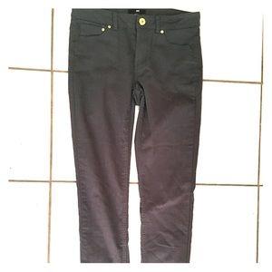 H&M Dark Green Skinny Pants