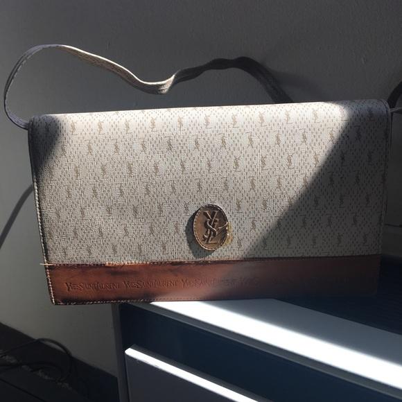 13d8397f5e9 Yves Saint Laurent Bags | Authentic Vintage Ysl Cross Body Bag ...