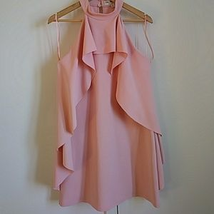 Baby pink elegant dress. NWT