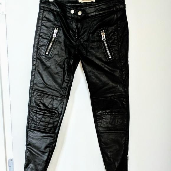 d94494ea54 Isabel Marant pour H&M Pants | Hm By Isabel Marant Leather | Poshmark