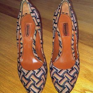 Missoni high heels EUC