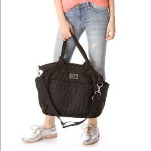 Marc Jacobs Pretty Nylon Eliz A Black Diaper Bag