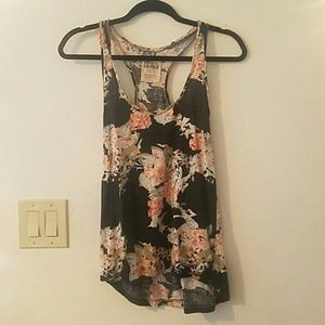 Volcom floral tank top