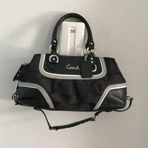 Coach black  100% leather