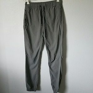 Nike dri-fit/ hurley joggers gray size small
