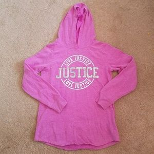 Justice Hooded Shirt