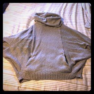Poncho like sweater