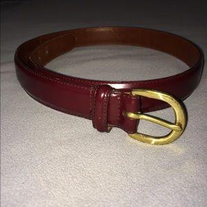 Coach - Leather belt