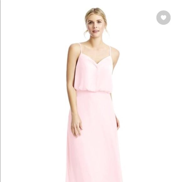 "e1428404368 azazie Dresses   Skirts - Azazie ""Rebecca"" bridesmaid dress in blushing pink"