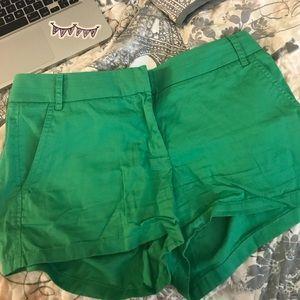 J crew shorts