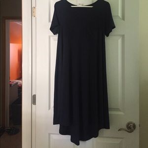 Lularoe Carly navy blue size xs