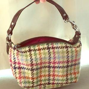 COACH Mini Plaid Bag