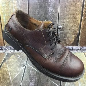 BORN dark brown leather shoes