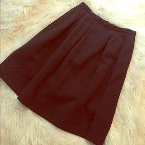 H&M patterned midi skirt