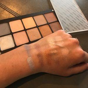 Custom made Inglot Eyeshadow palette - neutral