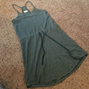 Striped dress size small Lou & Grey