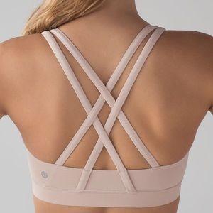 NWT lululemon energy sports bra naked size 6
