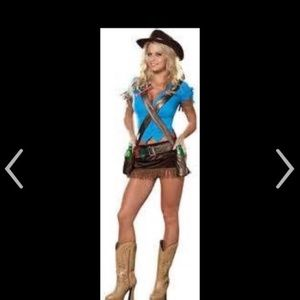 Dream Girls sexy Cowboy Costume