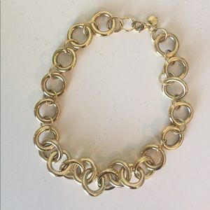 J. Crew Gold Link Necklace