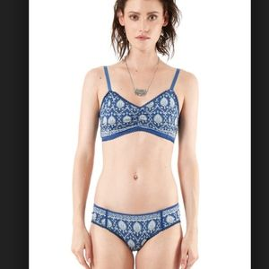 spell and they gypsy bralette and undie set