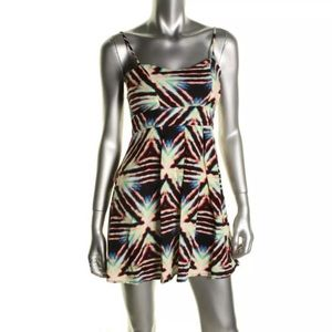 NWT MATERIAL GIRL SHIRT TRIANGLE RAYS DRESS SZ M
