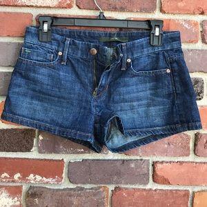 Joe's Jean Shorts 26 Dark Wash