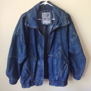 Vintage 90's Oversized Jean Jacket