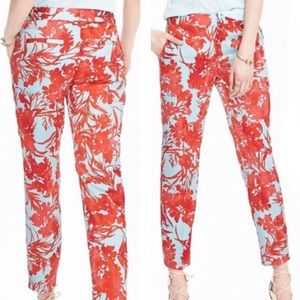 Banana Republic Floral Print Avery Ankle