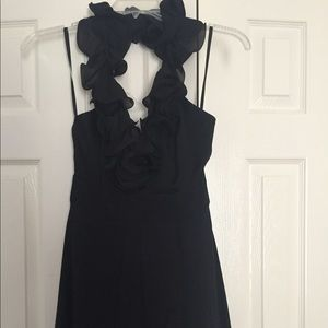 Bebe halter dress - worn once