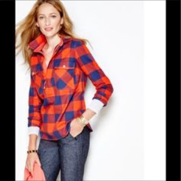J. Crew - NWOT. J. Crew Factory Buffalo check shirt-jacket from ...