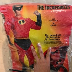 Adult Mr.Incredible men costume size M(38-40