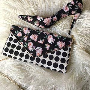 Aldo heels and bag matching set