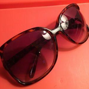 Leopard Oversize Sunglasses