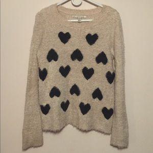 Lauren Conrad fuzzy sweater