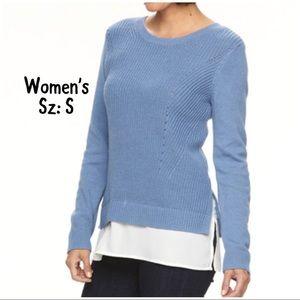 💫NWT🍁Fall Women's Croft&Barrow Sweater Sz:S🌛