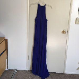 Beautiful high neck maxi dress NWOT