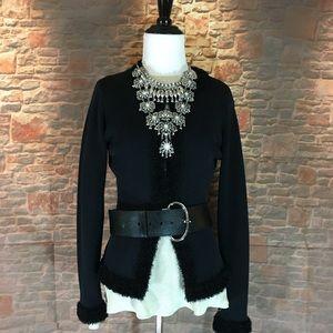 💸Max Studio black cardigan in size Small