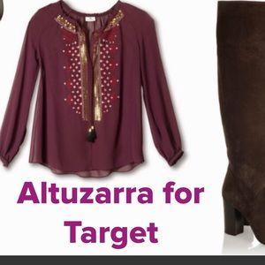Altuzurra for Target blouse