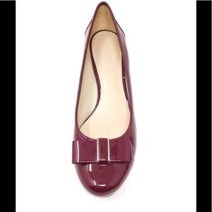 """Naturalizer """"Sweet"""" Patent Leather Bow Toe Pump"""