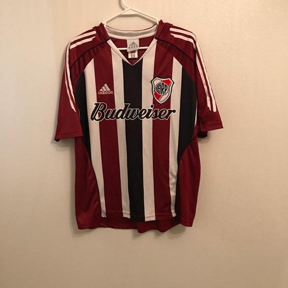 0a5c89f1484ff Adidas Vintage CARP Budweiser Soccer Jersey Medium
