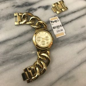 Michael Kors Gold Link Watch