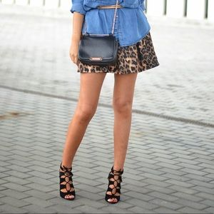NWT Leopard Print Skirt❤