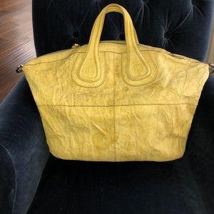 GIVENCHY large nightgale Yellow Handbag
