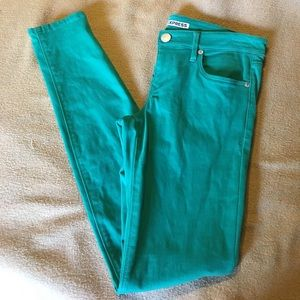 Express Colored Skinny Jeans