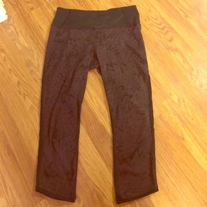 lululemon star crushed purple cherry Capri