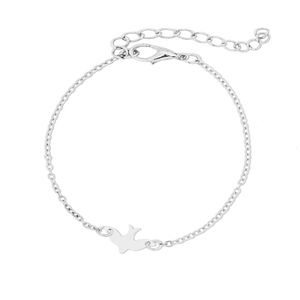 Jewelry - Silver Swallow Bird / Dove Bracelet