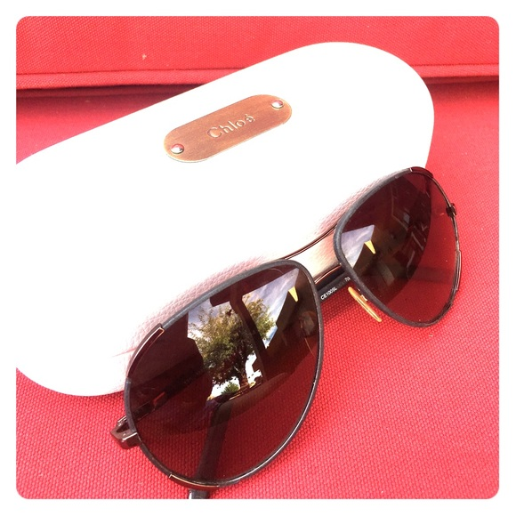 2c332b28b84e Chloe Accessories - AUTHENTIC CHLOE CE100SL Aviator Sunglasses 😎