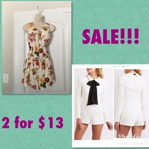 Pants - 2 Rompers for $13