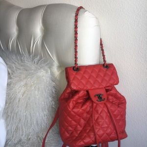 Red Caviar Backpack
