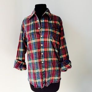 ❗️Nordstrom Plaid Button Down MSRP $98!
